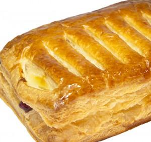 クリームチーズとブルーベリーのパイ