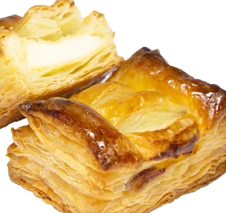 ミニクリームチーズとブルーベリーのパイ