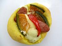 野菜ゴロゴロパン(カボチャ)