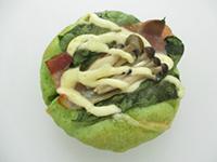 野菜ゴロゴロパン(ほうれん草)