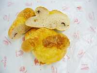青海苔とチーズのパン