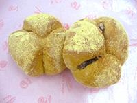 小豆&きな粉のパン